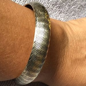 Jewelry - 925 Sterling Silver Wide Bangle